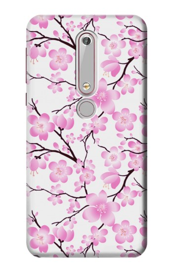Printed Sakura Cherry Blossoms Nokia 6 (2018) Case
