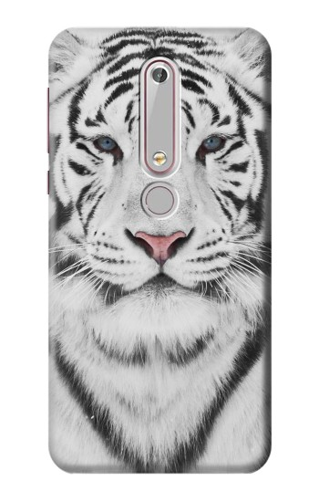 Printed White Tiger Nokia 6 (2018) Case