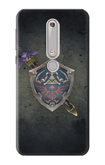 Printed Legend of Zelda Shield Nokia 6 (2018) Case