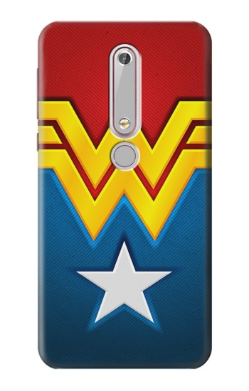 Printed Wonder Women Logo Nokia 6 (2018) Case