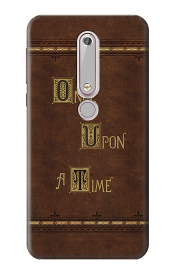 Printed Once Upon A Time Book Nokia 6 (2018) Case