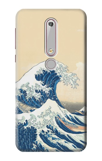 Printed Under the Wave off Kanagawa Nokia 6 (2018) Case