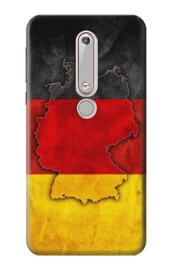 Printed Germany Flag Map Nokia 6 (2018) Case