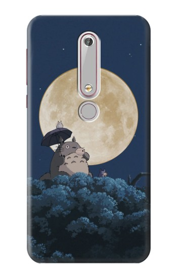 Printed Totoro Ocarina Moon Night Nokia 6 (2018) Case
