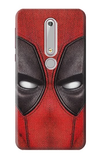Printed Deadpool Mask Nokia 6 (2018) Case