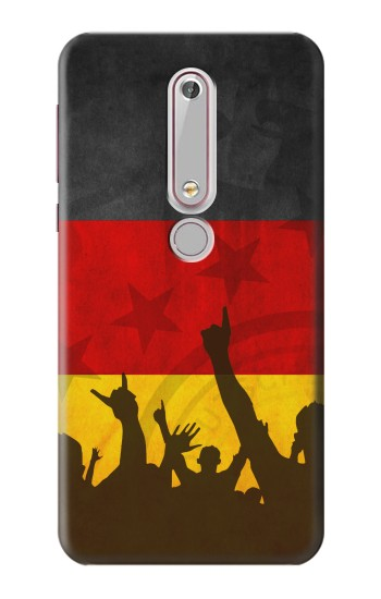 Printed Germany Football Flag Nokia 6 (2018) Case