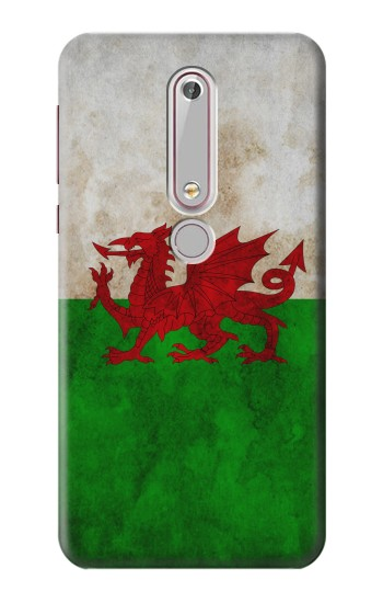 Printed Wales Red Dragon Flag Nokia 6 (2018) Case