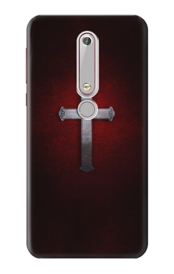 Printed Christian Cross Nokia 6 (2018) Case