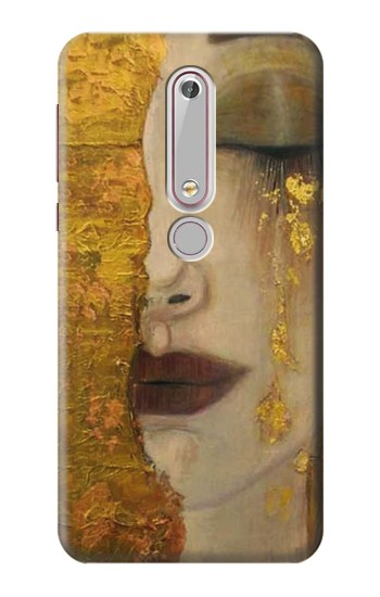 Printed Gustav Klimt Golden Tears Nokia 6 (2018) Case