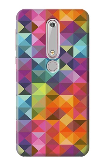 Printed Abstract Diamond Pattern Nokia 6 (2018) Case