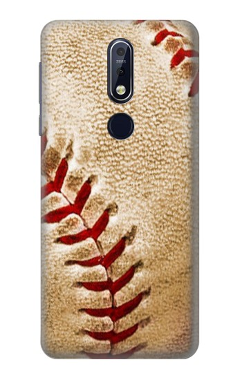 Printed Baseball Nokia 7.1 Case