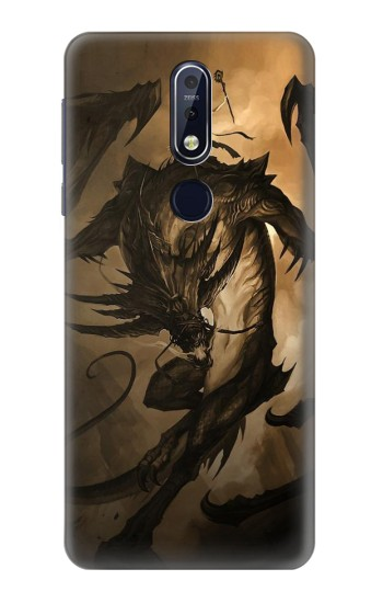 Printed Dragon Rider Nokia 7.1 Case