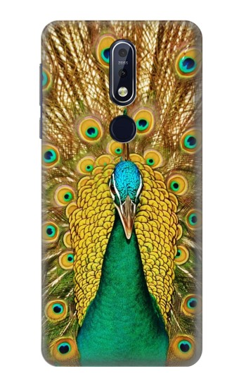 Printed Peacock Nokia 7.1 Case