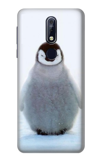 Printed Penguin Ice Nokia 7.1 Case