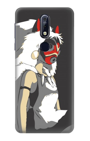 Printed The Spirit Princess Mononoke Hime Nokia 7.1 Case