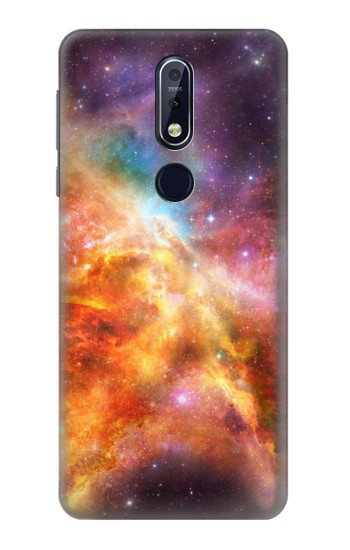 Printed Nebula Rainbow Space Nokia 7.1 Case