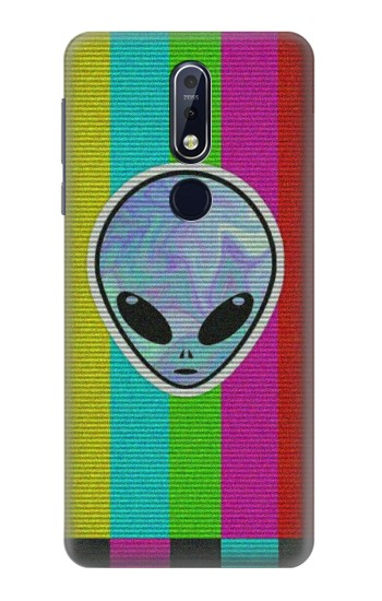 Printed Alien No Signal Nokia 7.1 Case
