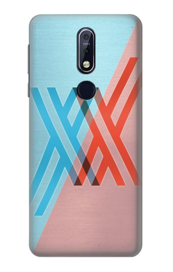 Printed Darling in the Franxx Nokia 7.1 Case