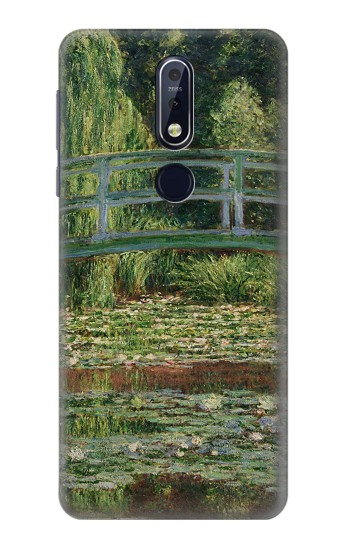 Printed Claude Monet Footbridge and Water Lily Pool Nokia 7.1 Case