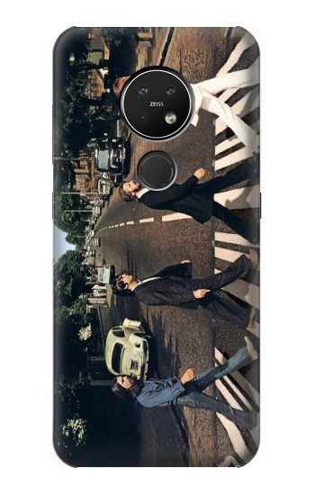 Printed The Beatles Abbey Road Nokia 7.2 Case