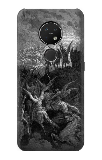 Printed Gustave Dore Paradise Lost Nokia 7.2 Case