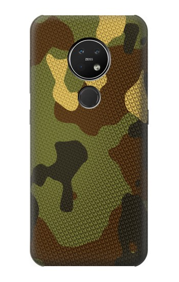 Printed Camo Camouflage Graphic Printed Nokia 7.2 Case