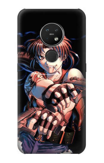 Printed Black Lagoon Revy Two Hands Nokia 7.2 Case