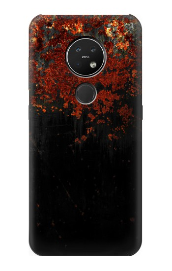Printed Rusted Metal Texture Nokia 7.2 Case