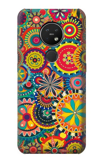 Printed Colorful Pattern Nokia 7.2 Case