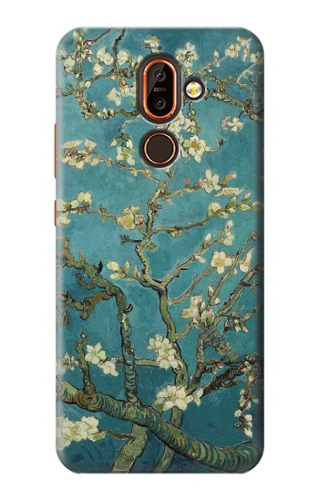Printed Blossoming Almond Tree Van Gogh Nokia 7 plus Case