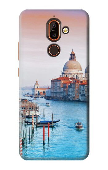 Printed Beauty of Venice Italy Nokia 7 plus Case