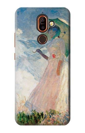 Printed Claude Monet Woman with a Parasol Nokia 7 plus Case