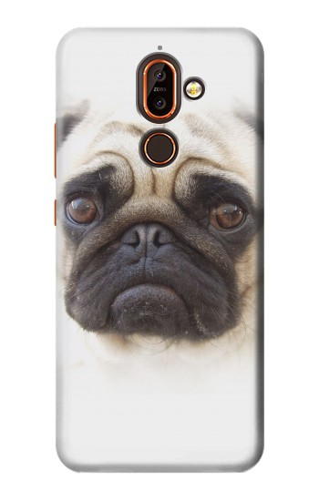 Printed Pug Dog Nokia 7 plus Case