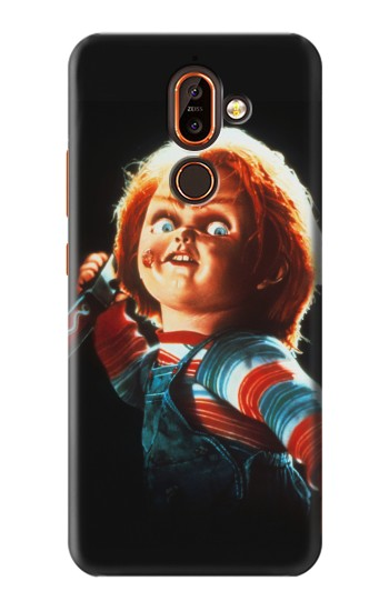 Printed Chucky With Knife Nokia 7 plus Case