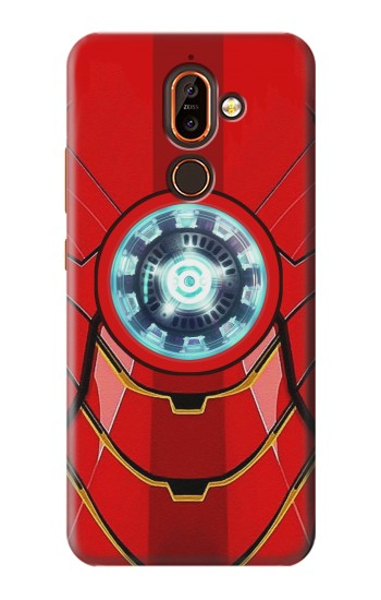Printed Ironman Armor Arc Reactor Graphic Printed Nokia 7 plus Case