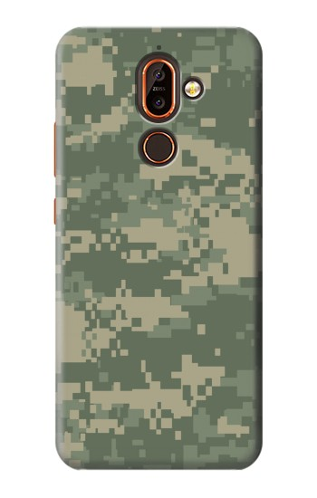 Printed Digital Camo Camouflage Graphic Printed Nokia 7 plus Case