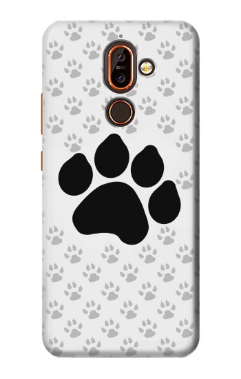 Printed Paw Foot Print Nokia 7 plus Case