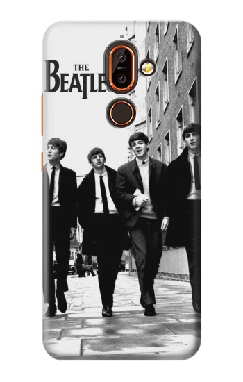 Printed The Beatles in London Nokia 7 plus Case