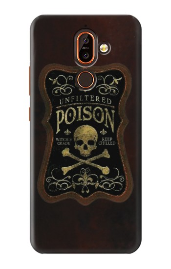 Printed Unfiltered Poison Vintage Glass Bottle Nokia 7 plus Case