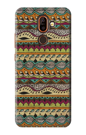 Printed Aztec Boho Hippie Pattern Nokia 7 plus Case