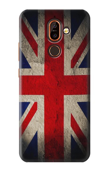 Printed Vintage British Flag Nokia 7 plus Case