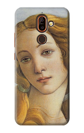 Printed Botticelli Birth of Venus Painting Nokia 7 plus Case