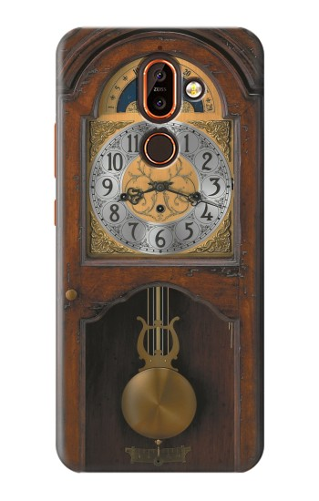 Printed Grandfather Clock Antique Wall Clock Nokia 7 plus Case