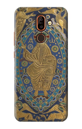 Printed Book Cover Christ Majesty Nokia 7 plus Case