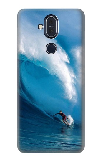 Printed Hawaii Surf Nokia 8.1, Nokia X7 Case