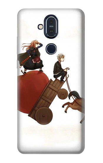 Printed Spice and Wolf Horo Lawrence Nokia 8.1, Nokia X7 Case