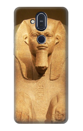 Printed Sphinx Egyptian Nokia 8.1, Nokia X7 Case