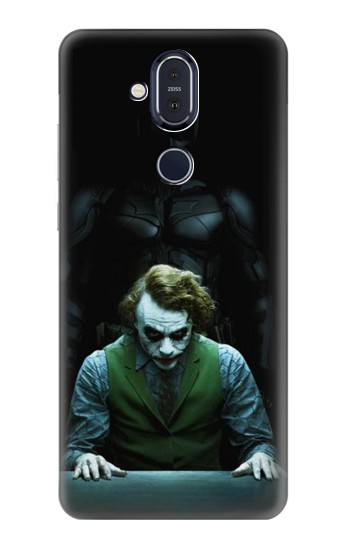 Printed Batman Joker Nokia 8.1, Nokia X7 Case