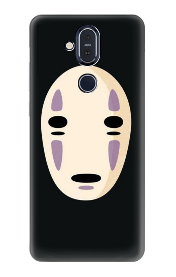 Printed Spirited Away No Face Nokia 8.1, Nokia X7 Case