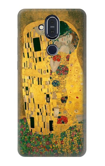 Printed Gustav Klimt The Kiss Nokia 8.1, Nokia X7 Case